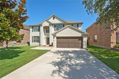Cedar Park Single Family Home For Sale: 2502 McKendrick Dr