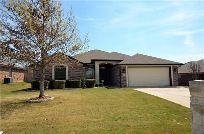Belton Single Family Home For Sale: 3106 Matador Dr