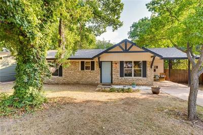 Hays County, Travis County, Williamson County Single Family Home Pending - Taking Backups: 1211 Green Forest Dr