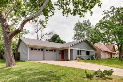 Austin Single Family Home For Sale: 1812 Pompton Dr