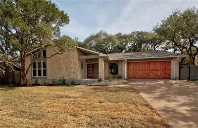 Austin Single Family Home For Sale: 2623 Barton Hills Dr