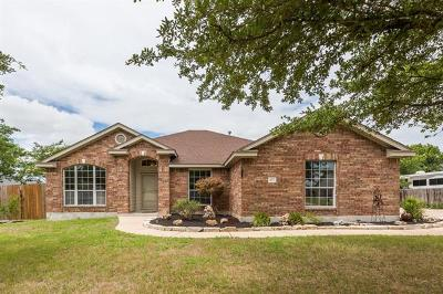Hutto Single Family Home Pending - Taking Backups: 417 Rio Grande Ave
