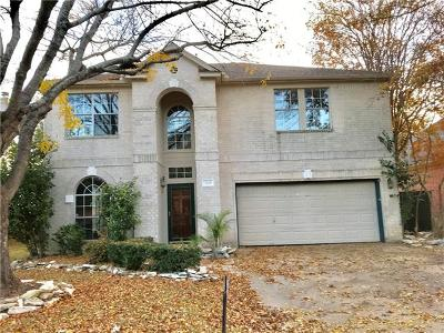 Round Rock Single Family Home For Sale: 2109 Spring Hollow Path