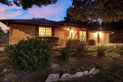 Austin Single Family Home For Sale: 1317 Warrington Dr
