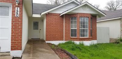 Cedar Creek Single Family Home Pending - Taking Backups: 120 Oak River Dr