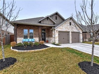 Liberty Hill Single Family Home For Sale: 171 Salt Fork Dr