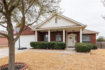 Round Rock Single Family Home Pending - Taking Backups: 2205 Pearson Way
