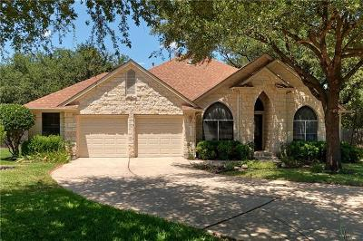 Cedar Park Single Family Home Active Contingent: 1100 Oliver Loving Cv