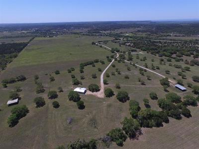 Burnet County Farm For Sale: 5360 County Road 330