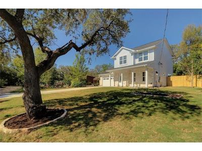 Jonestown Single Family Home For Sale: 18208 Edna Rd