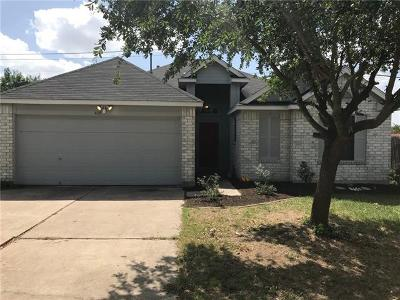 Hutto Single Family Home Pending - Taking Backups: 409 Willowbrook Dr