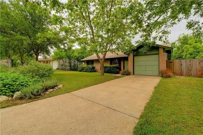 Travis County Single Family Home Pending - Taking Backups: 6801 Esther Dr