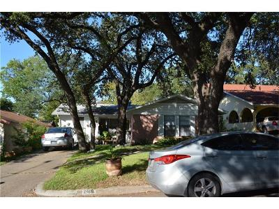 Austin TX Single Family Home For Sale: $500,000