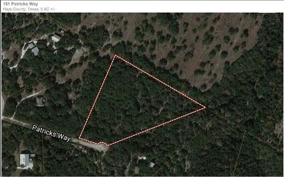 Hays County Residential Lots & Land For Sale: 151 Patricks Way