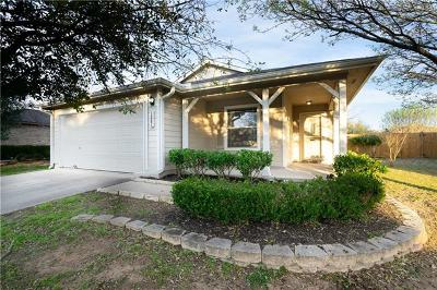 Hutto Single Family Home For Sale: 1006 Easy Cv