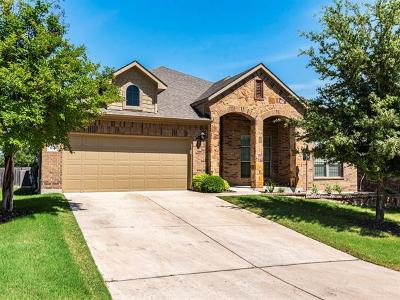 Cedar Park Single Family Home Pending - Taking Backups: 304 Walsh Hill Trl