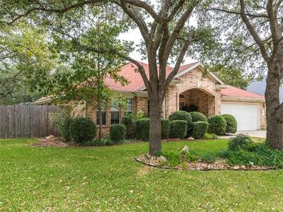 Cedar Park Single Family Home For Sale: 1509 Warren Cv