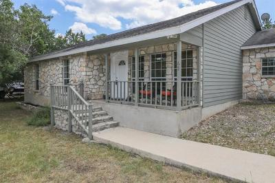 Wimberley Single Family Home For Sale: 65 Deer Ridge Rd
