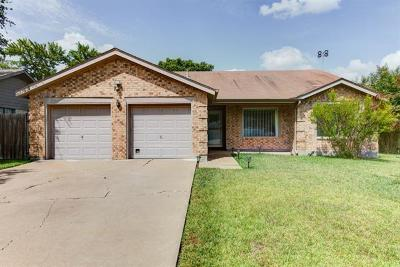 Pflugerville Single Family Home For Sale: 1612 Dove Haven Dr
