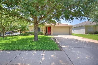 Leander Single Family Home For Sale: 17517 Port Hood Dr