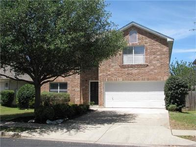 Round Rock Single Family Home For Sale: 4026 Barlow Dr