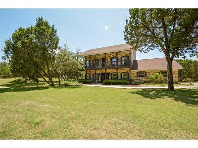 Jonestown Single Family Home For Sale: 18301 Reed Park Rd