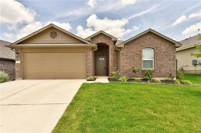 Leander Single Family Home For Sale: 409 Lewisville Ln