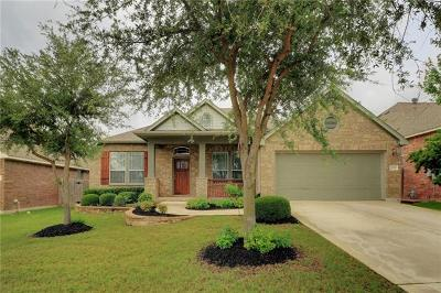 Cedar Park Single Family Home For Sale: 1009 Williams Way