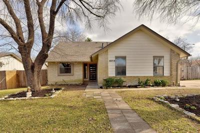 Travis County Single Family Home Pending - Taking Backups: 10215 W Rutland Vlg
