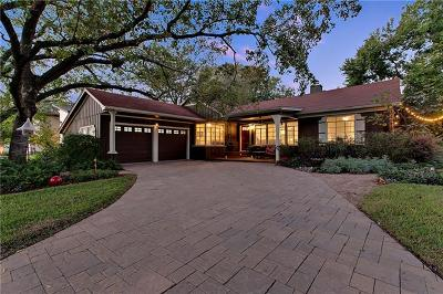 Austin Single Family Home For Sale: 3202 W Highland Ter