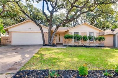 Travis County Single Family Home For Sale: 7301 Lunar Dr