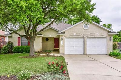 Cedar Park Single Family Home Pending - Taking Backups: 2617 Goldfinch Dr