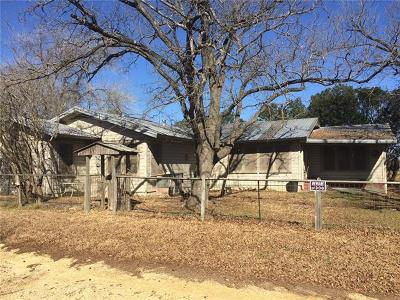 Williamson County Single Family Home For Sale: 5800 N 95 Hwy