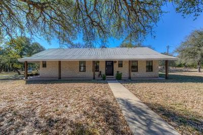 Burnet County Single Family Home For Sale: 1147 County Road 100