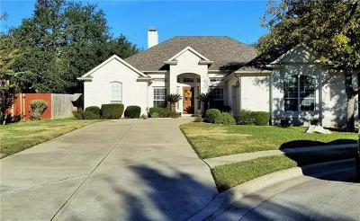 Cedar Park Single Family Home Pending - Taking Backups: 1203 Andrew Cv