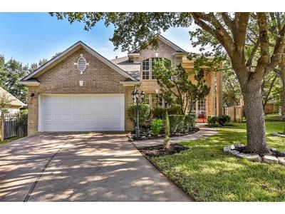 Austin Single Family Home Active Contingent: 5408 Ketch Ct