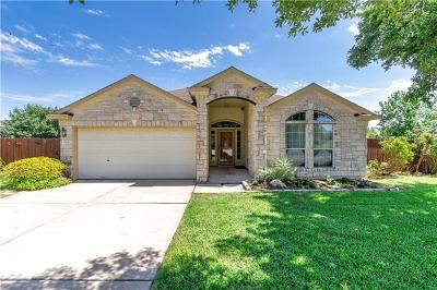Round Rock Single Family Home For Sale: 1505 Campanella Cv