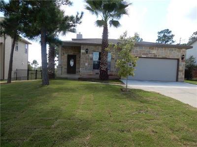 Bastrop Single Family Home For Sale: 107 W Hilo Ct