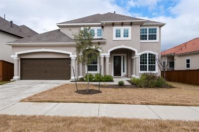 Leander Single Family Home For Sale: 2820 Wedgescale Pass