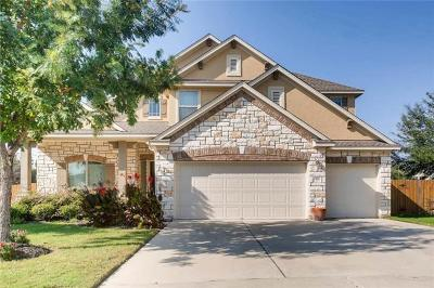 Cedar Park Single Family Home For Sale: 100 Briarwood Dr