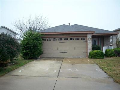 Pflugerville Single Family Home For Sale: 1620 Tea Leaf Dr
