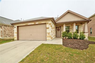 Buda Single Family Home For Sale: 191 Vermilion Marble Trl