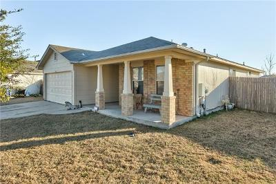 Hutto TX Single Family Home For Sale: $179,999