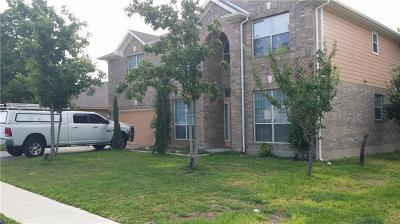 Pflugerville Single Family Home For Sale: 18921 Edinburgh Castle Rd