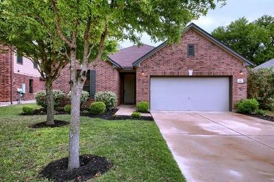 Round Rock Single Family Home For Sale: 1161 Hyde Park Dr