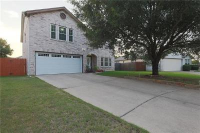 Cedar Park Single Family Home For Sale: 2109 Van Horn Cv