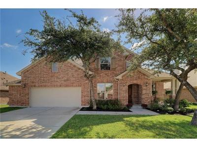 Cedar Park Single Family Home For Sale: 2412 Sweetwater Ln
