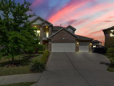 Round Rock Single Family Home For Sale: 1908 Woodhaven Ct