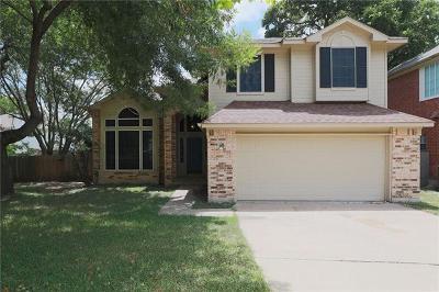 Cedar Park Single Family Home For Sale: 2904 Wren Cir