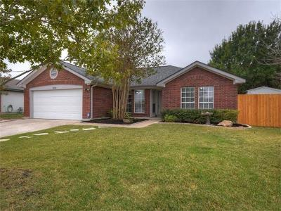 Georgetown Single Family Home Pending - Taking Backups: 1602 Southwestern Blvd